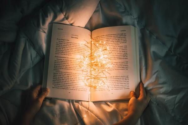 Lights within a book